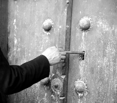 Abrir a porta